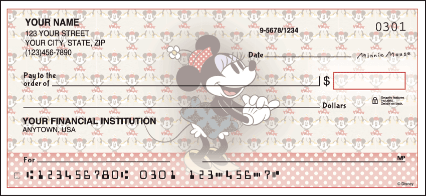 Disney Vintage Minnie Checks - click to preview