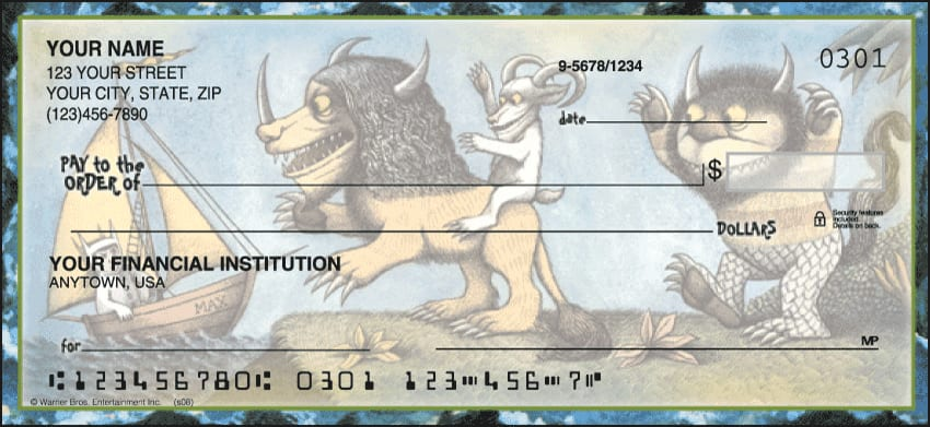 Where the Wild Things Are Checks - click to preview