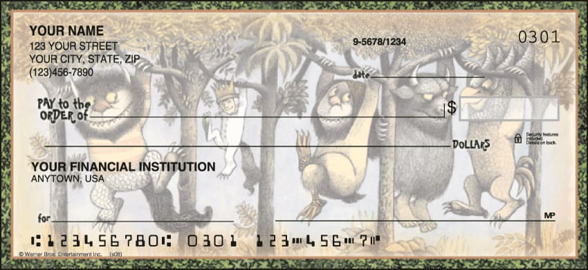 Enlarged view of Where the Wild Things Are Checks