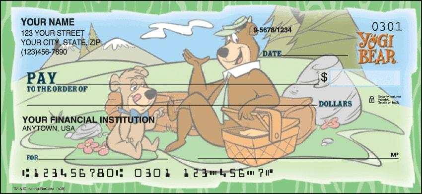 Yogi Bear Checks - click to view larger image