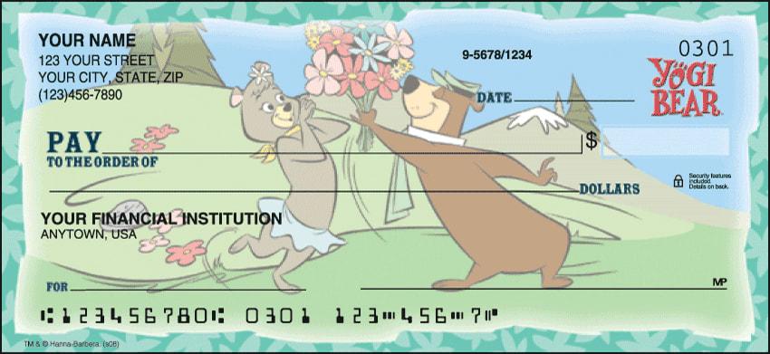 Yogi Bear Checks - click to preview