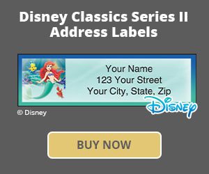 Disney Classics, Series II Address Labels