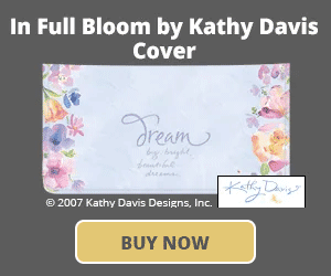 In Full Bloom by Kathy Davis Checkbook Cover