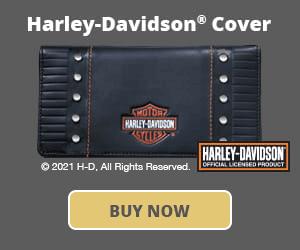 Harley-Davidson® Checkbook Cover