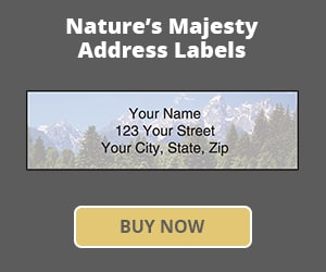 Nature's Majesty Address Labels