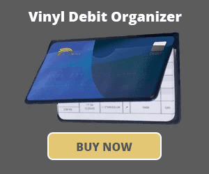 Vinyl Debit Organizer