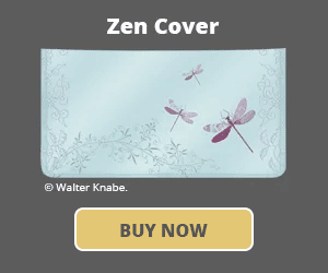 Zen Checkbook Cover
