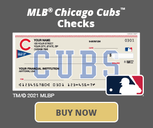 Chicago Cubs™ Checks