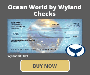 Ocean World by Wyland Checks
