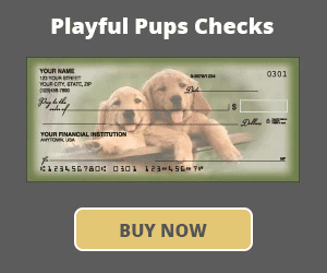 Playful Pups Checks