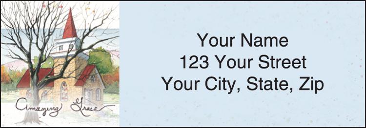 Amazing Grace Address Labels Set of 210