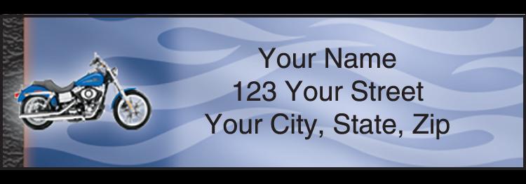 Harley-Davidson Address Labels - Set of 210