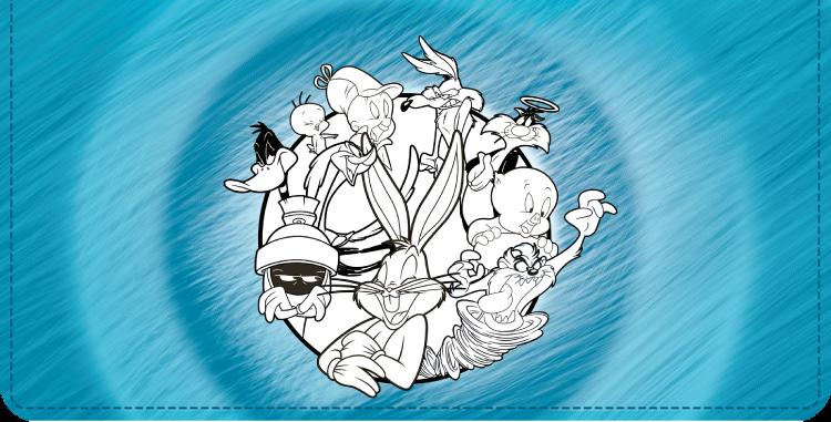 Looney Tunes II Checkbook Cover