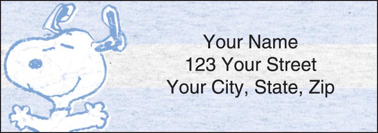 Peanuts Address Labels - Set of 210