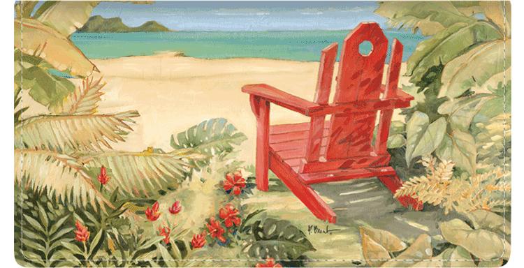 Shoreline View Checkbook Covers