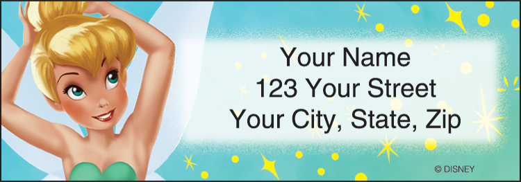 Tinker Bell Address Labels - Set of 210