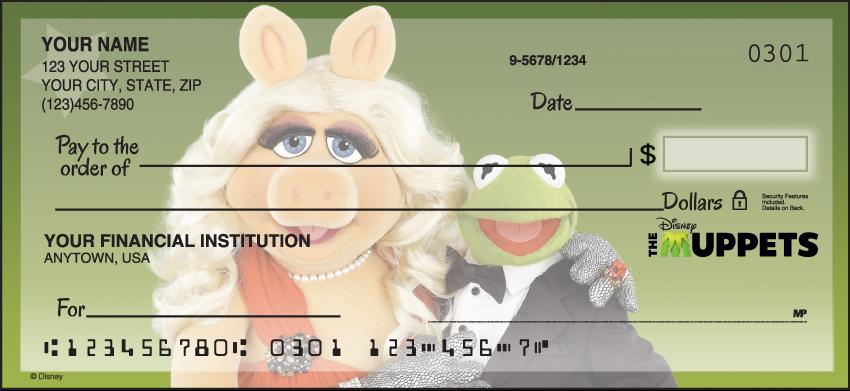 The Muppets Disney Personal Checks - 1 Box - Singles