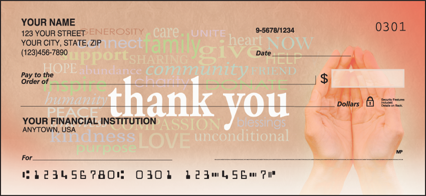 American Red Cross Inspirational Personal Checks - 1 Box - Singles