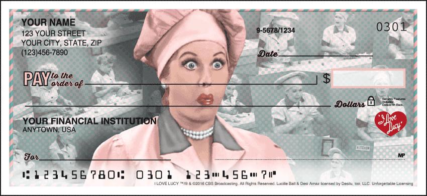 Vintage Lucy Classic Personal Checks - 1 Box - Singles